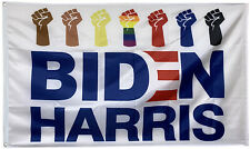 Joe Biden Flag Biden Harris BLM Fists Equality USA 3x5ft banner