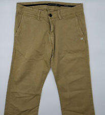 Quiksilver Premium W30 L30 beige Herren Designer Denim Jeans Vintage Hose Mode