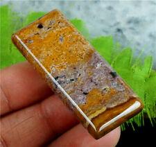 Jasper Ocean Variolite Pendant Stone Delicate 48x20x7mm Gem Reiki Chakra, Root