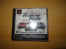 The Italian Job Sony PlayStation 1 Ps1 PAL Version
