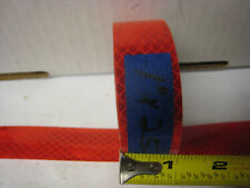 "BRIGHT RED  Reflective   Conspicuity  Tape 1"" x 25'"