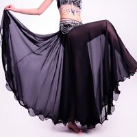 NEW Full Circle Skirt Dress Belly Dance Tribal Boho Skirt Dancing Costume Outfit