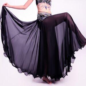 NEW Full Circle Skirt Dress Belly Dance Tribal Boho Skirt Dancing Costume Outfit