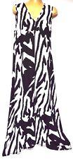 plus sz XXS / 12 TS TAKING SHAPE Havana Maxi Dress stretch summer NWT rp$140!