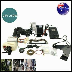 DC 24V 250W Motor Controller Electric Bike Conversion Kit For Common Bike AU