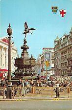 B31209 Statue of Eros Piccadily Circus London  uk