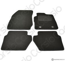 Ford EcoSport Tailored Carpet Car Floor Mats Black 4pc Set