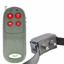Collier de dressage electrique chock pour chien PORTEE 300M + telecommande CF#G