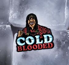 COLD BLOODED LAPEL PIN - DATA - DAVE CHAPPELLE - RICK JAMES - COMPLEX - HIP HOP