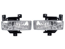 DEPO Crystal Look Clear Lens Fog Lights For 97-98 Ford F150 F-150 Pickup Truck