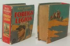 Big / Better Little Book BLAZE BRANDON WITH THE FOREIGN LEGION 1938 #1447 !!y
