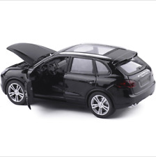 Porsche Cayenne SUV 1:32 Model Cars Toys Sound & Light Alloy Diecast Black Gifts