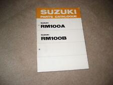 Manuales de motor RM Suzuki