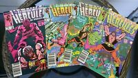 Hercules Prince of Power 1 2 3 4 Limited Series lot of 4 Marvel Comic HIGH GRADE