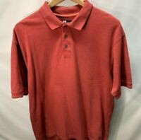 Jos A Bank Men's XXL David Leadbetter Golf Polo Short Sleeve Shirt Cotton