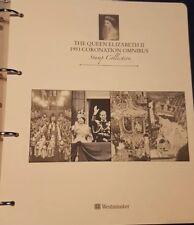 THE QUEEN ELIZABETH II 1953 CORONATION OMNIBUS STAMP COLLECTION