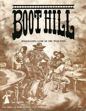 BOOT HILL ROLE PLAYING GAME OF THE WILD WEST 7005 VGC! TSR