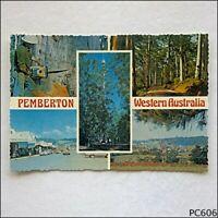 Pemberton Western Australia 5 Views Murray Views MV W17 Postcard (P606)