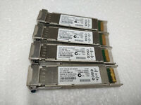 """Lot of 4"" Cisco XFP-10GLR-OC192SR 10G XFP 10km 1310nm Transceiver Module"