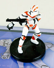 Star Wars miniatures Clone Trooper #8 Revenge of the Sith with card