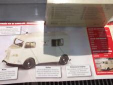 Atlas Ambulance Collection  Citroen Typ HY  mit OVP + Datenblatt 1:43