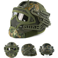 New DW Protective Goggles G4 System Full Face Mask Helmet Airsoft Paintball
