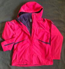 Womans Columbia Interchangable Jacket. Pink Shell And Purple Fleece Great Shape!