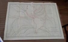 Large Map Economic Report Plate (1897-1901) Isthmian Canal Comm #75