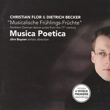 FREE US SHIP. on ANY 2 CDs! USED,MINT CD Musica Poetica, Becker, Flor: Musicalis