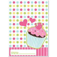 Cupcake Party Supplies Treat Bags