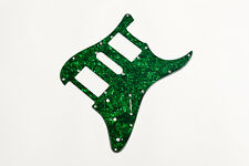Stratocaster Pickguard HSH Green Pearl 3Ply - Golpeador Strat HSH verde perlado