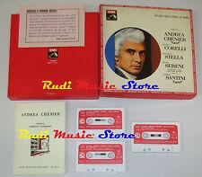 BOX 3 MC UMBERTO GIORDANO teatro opera di roma ANDREA CHENIER EMI cd lp dvd vhs