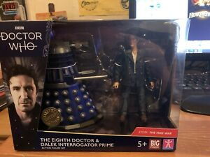 Doctor Who Big Finish - 8th Doctor and Dalek Twin Pack