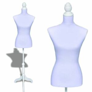 Female Dress Form Mannequin Bust Torso Display Tailor Fashion Design With Stand
