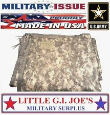 Military Issue Acu Camo Poncho Liner Woobie Blanket Beach Blanket C+/B+ COND.