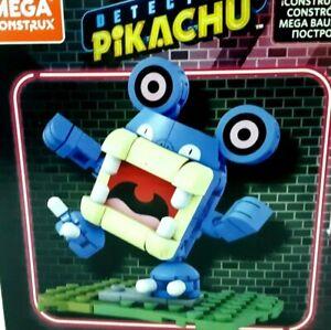 Mattel's Mega Construx Pokemon Detective Pikachu Loudred Figure 89 Piece Build