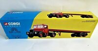 Boxed Corgi,Siddle & Cook Ltd Scammell Highwayman & 33 ft Trailer set Mint 16401