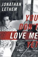 You Don't Love Me Yet: A Novel-ExLibrary