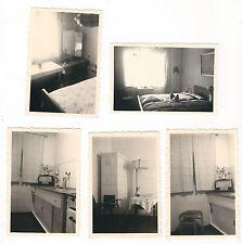 31/615 FOTO FERIENUNTERKUNFT PRIVAT DDR  RADIO  OFEN LAMPE usw. 5 x
