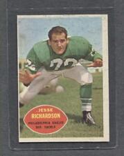 1960 Topps Football #91 Jesse Richardson (Eagles)  Ex+  (Flat Rate Ship)