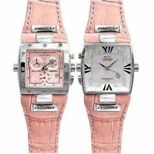 WATCH CHRONOTECH DUAL FACE CHRONO OROLOGIO DONNA QUARZO NUOVO LIST.253