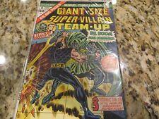 Super Villain Team-up Giant Size #1 Marvel Comics Stan Lee