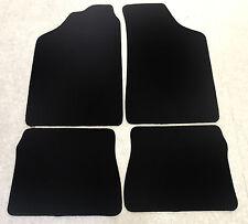 Fußmatten Autoteppiche für Peugeot 106 I  1991-1996 schwarz 4 teilig Neuware