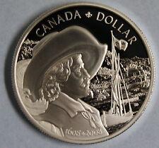 2008 CANADA FOUNDING OF QUEBEC PROOF SILVER DOLLAR COIN AND COA