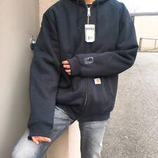 Carhartt Men's Rain Defender Thermal Lined Hooded Zip Front Sweatshirt 100632