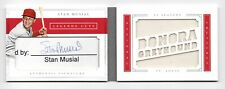 2016 PANINI NATIONAL TREASURES STAN MUSIAL CUT AUTO JERSEY RELIC BOOK 3/5