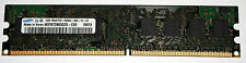 1 GB DDR2-RAM 1Rx8 PC2-5300U non-ECC 667 MHz 'Samsung M378T2863QZS-CE6'