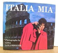 Italia Mia Photographs by Gina Lollobrigida HB/DJ *Signed*