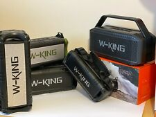 More details for        w-king very loud powerful  rms portable bluetooth party boombox speakers