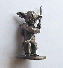 Master Yoda Star Wars Jedi Knight Handmade Tin Metal Soldier Figurine 1/32 scale